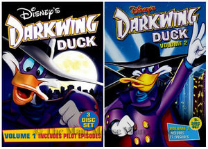 Darkwing-Duck-The-Disney-Afternoon-Cartoon-Series-Volumes-1-amp-2-Together-on-DVD