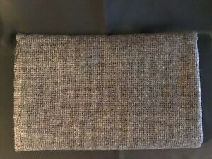 Vintage-Wool-Material-60-x-1-yd-14-inches-Main-colors-Gray-Black-Navy
