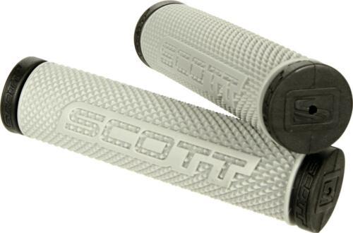 Scott SX II ATV Grips BLACK//GREY Universal ATV 7//8 Handle Bar Fit  SXII 219625