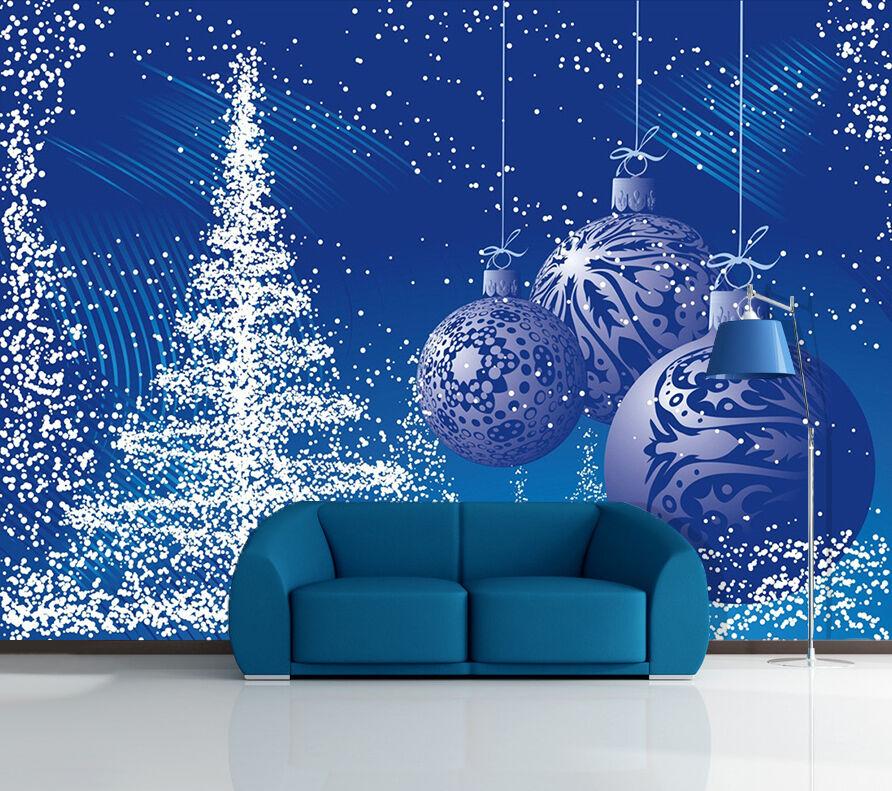 3D Chrismas Huge ball 385 WallPaper Murals Wall Print Decal AJ WALLPAPER