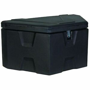 Truck Chest Tool Box >> Details About 36 In Truch Box Latch Lock Trailer Tongue Black Polymer Truck Chest Tool Box