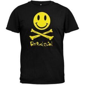 Fatboy Slim T-shirt Logo Size M Official Merchandise Prix ModéRé