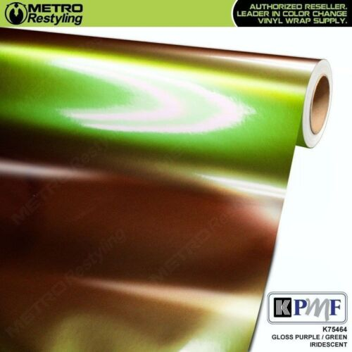 KPMF K75464 GLOSS PURPLE GREEN IRIDESCENT Vinyl Vehicle Car Wrap Decal Film Roll
