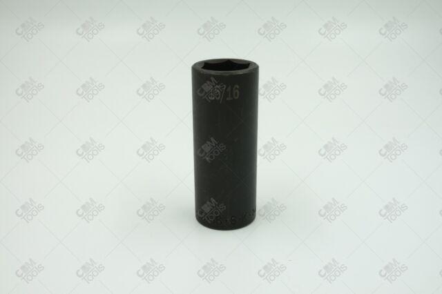 "SK Hand Tools 34230 1//2/"" Drive 6 Point Deep Impact Socket 15//16/"""