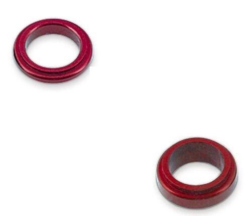 Distanzring Alu rot für 17 mm Achsschenkel Felge Reifen Achse Kart