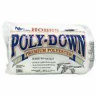 Hobbs Premium Non Allergenic Poly Down Quilt Batting King Size 120 X 120