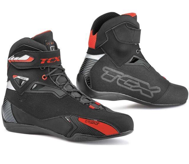 scarpe sportive ultimi progetti diversificati sconto fino al 60% Tcx Scarpe Moto Rush Nero Tg. 45