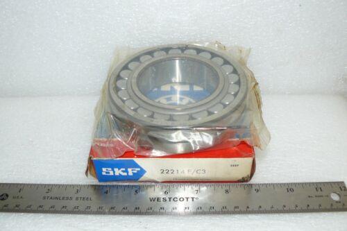 70MM I.D NEW SKF 22214 E//C3 SPHERICAL ROLLER BALL BEARING 125MM O.D