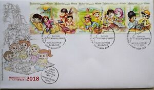 Malaysia FDC with Stamps (12.11.2018) - Stamp Week Malaysia Lifestyle Series 2