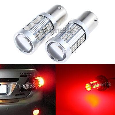 2x Yellow 1157 20W 22SMD LED High Power Backup LED Turn Brake Light Reverse Bulb