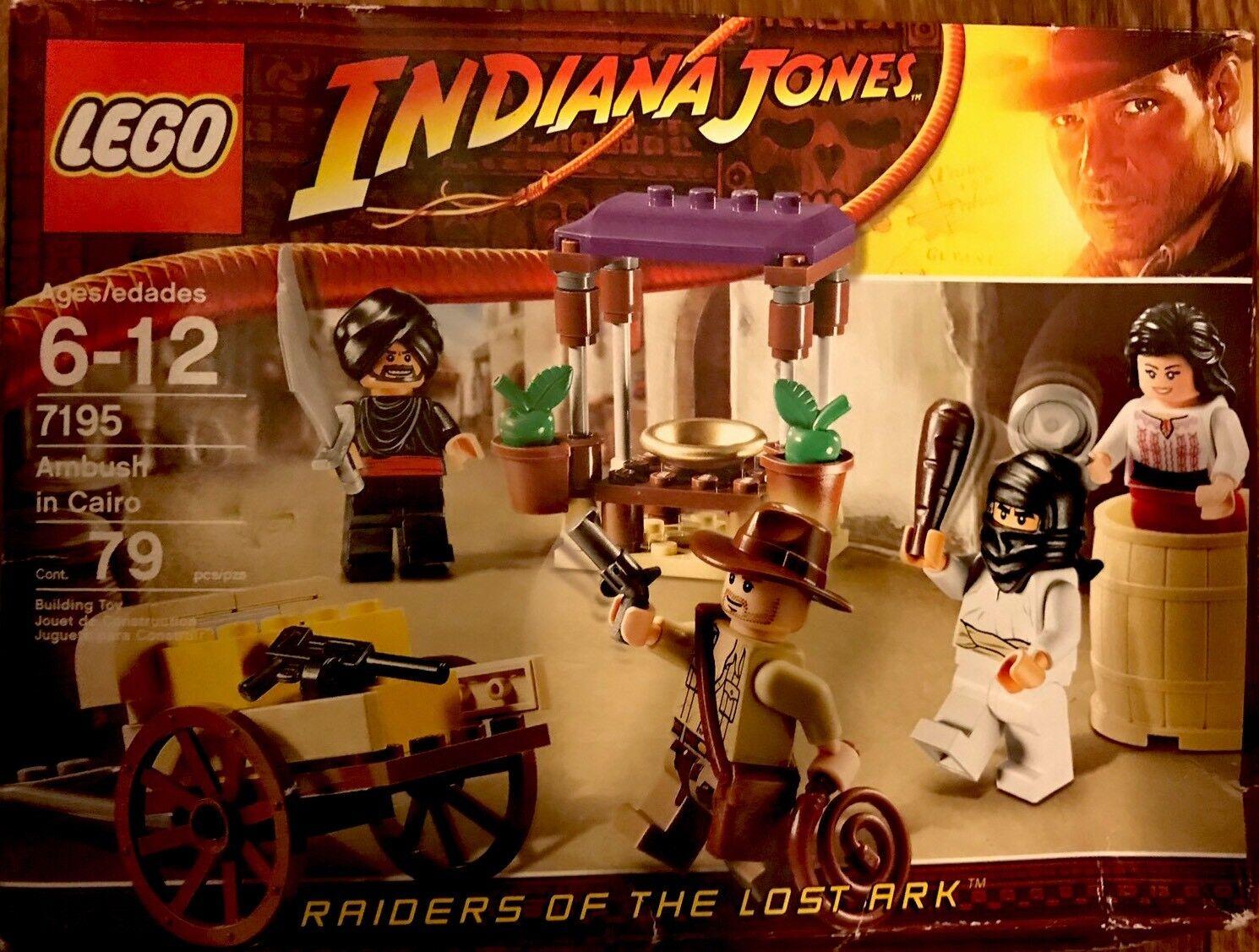 scelta migliore Indiana Jones™ LEGO Amautobush in Cairo (Marketplace Chase) 7195 RETIrosso RETIrosso RETIrosso SET  miglior servizio