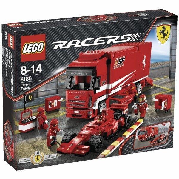 Lego Racers 8185   Ferrari F1 Euro voiturego  haute qualité et expédition rapide