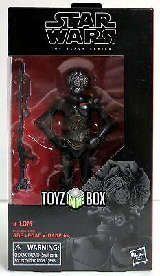 "In STOCK Hasbro Toys Star Wars Black Series /""4-Lom/"" 4 LOM #67 Action Figure"