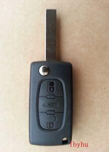 +++For Peugeot Partner Citroen Berlingo or DISPATCH 3 Button KEY FOB REMOTE CASE