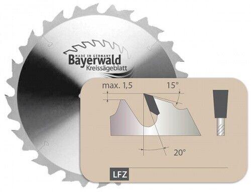 HM Kreissägeblatt - Ø 350 mm x 3,5 mm x 30 mm   Z=24 LFZ II