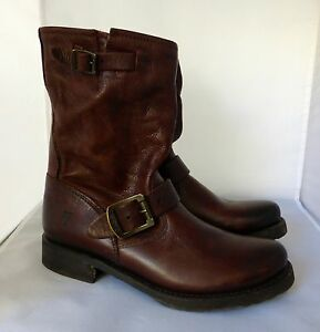 FRYE WOMEN'S BROWN ANKLE BOOTS, sz.6B, New $495