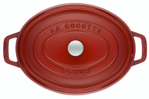 Staub Cocotte//Bräter mit Deckel oval 33cm 6,7L