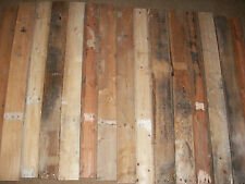 Rustic Reclaimed Pallet Wood Lumber 15 Boards Projects Crafts 10% off June $40