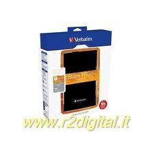 HARD DISK STORE'N'GO VERBATIM 500Gb USB 3.0 HD ESTERNO 2,5 NERO NON ALIMENTATO