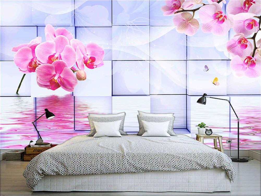 Pretty Normal Lily 3D Full Wall Mural Photo Wallpaper Printing Home Kids Decor