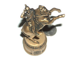 1966 Edition II Napoleon Bonaparte French Emperor Gold Horse Knight Chess Piece