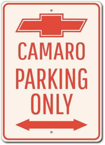 Chevy Camaro Sign Camaro Parking Sign Chevy Logo Decor ENSA1002692