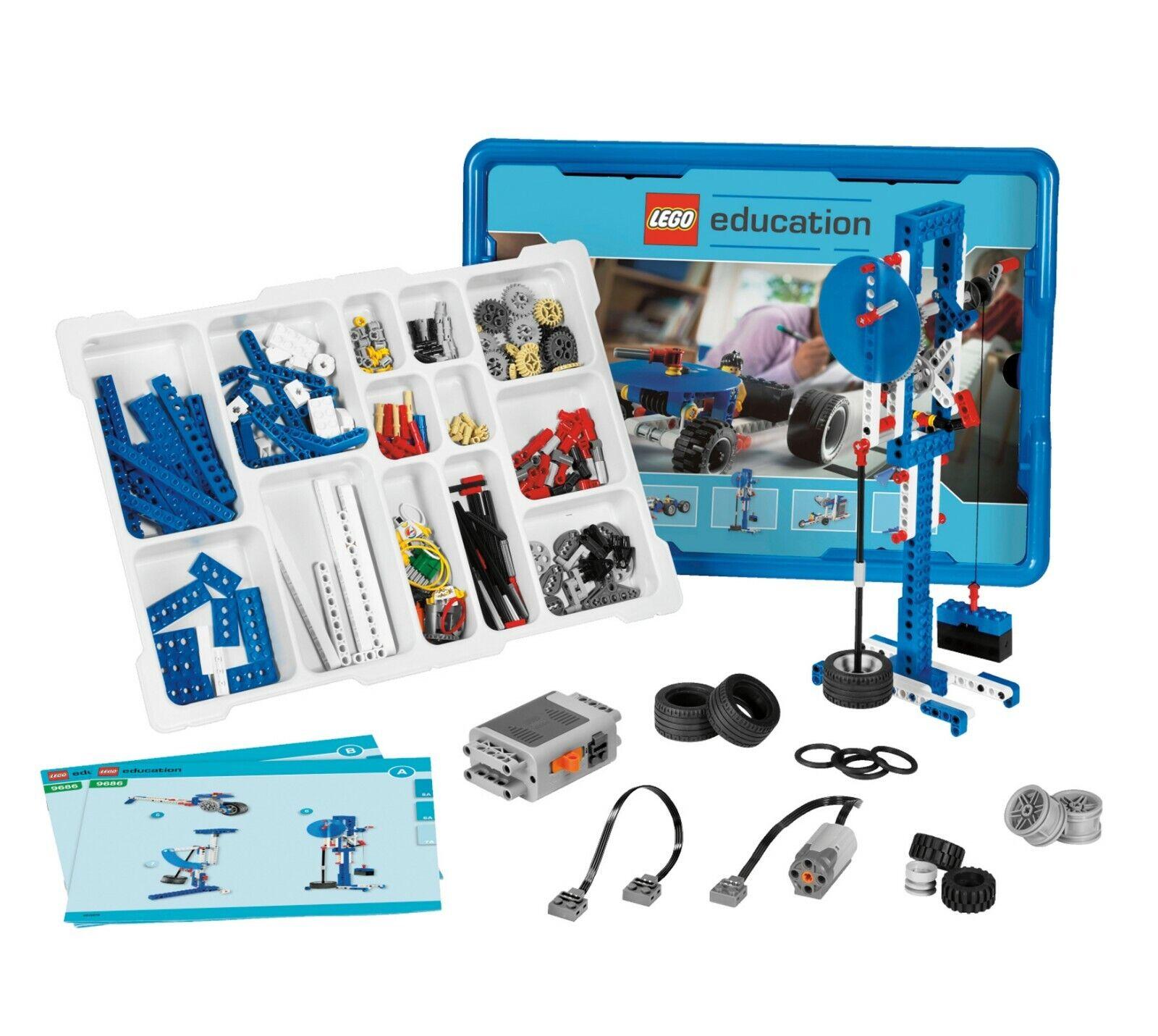 Lego 9686 Ciencias naturales enseñanza técnica escuela receta Education nuevo nuevo nuevo  protección post-venta