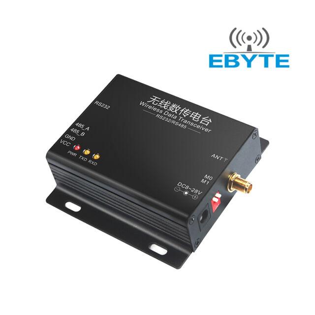 E32-DTU(868L30) 2SX1276 868MHz LoRa RS232 RS485 Wireless Transmitter Receiver