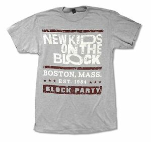 NEW-KIDS-ON-THE-BLOCK-BLOCK-PARTY-HEATHER-GREY-T-SHIRT-NEW-OFFICIAL-ADULT