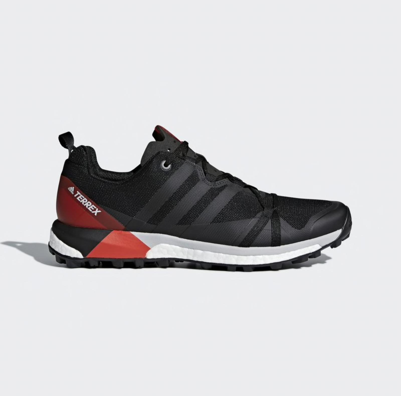 Adidas Adidas Adidas Men's Terrex Agravic CM7615 in Black Carbon Hi-Res Red Sz. 11, 11.5 NEW  1fb4e0