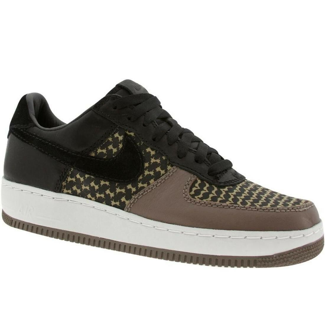 313213-032 Nike Air Force 1 Low IO Insideout Premium Undefeated Edition Black Gr