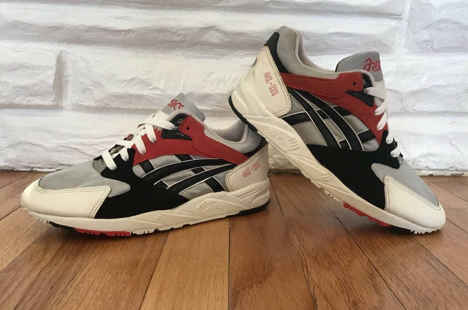 Deadstock New 90`S VINTAGE ASICS GEL-121 RUNNING shoes Size 6