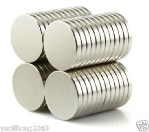 10PCS N50 1/2 x 1/8 inch Neodymium Disc Magnets Super Strong Rare Earth Magnet