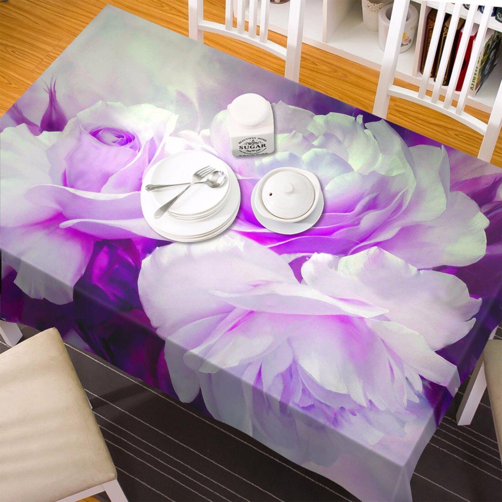 3D Petals Tablecloth Table Cover Cloth Birthday Party AJ WALLPAPER UK Lemon