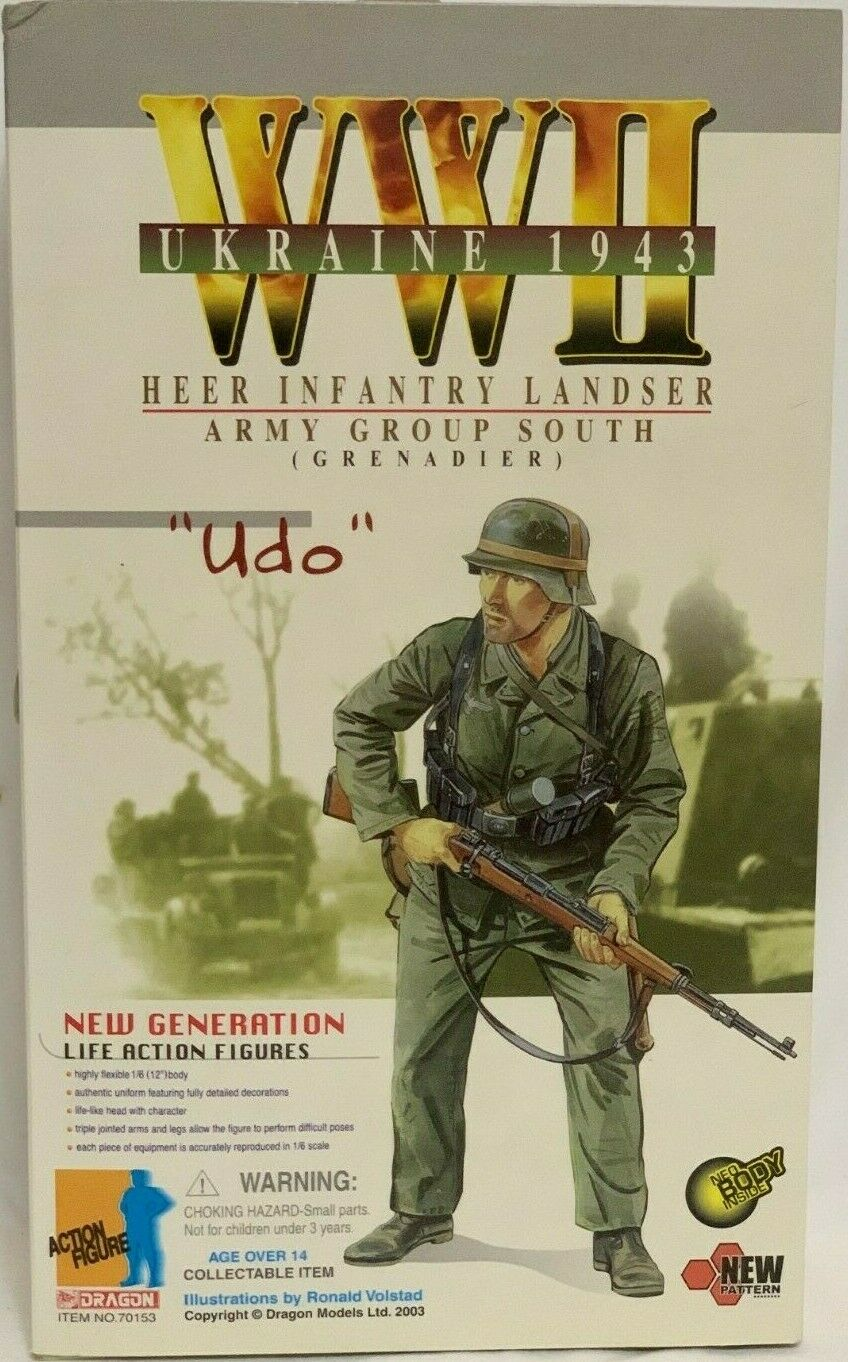 Dragon WW2 1 6 cifra Ukraine 1943 Geruomo Army Group South Grenadier Udo  nuovo