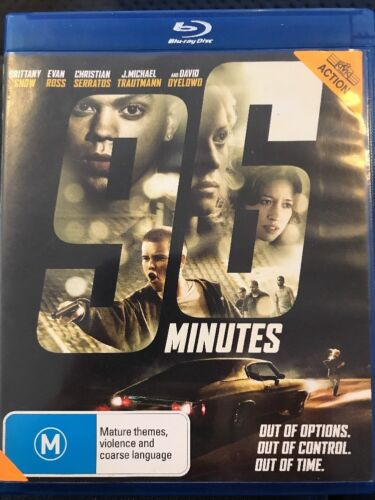 1 of 1 - 96 Minutes (Blu-ray, 2012) Brittany Snow, Evan Ross - Free Post!