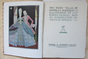 Perrault-Fairy-Tales-illustrated-by-Harry-Clarke-Harrap-1922-colour-plates