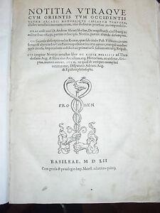 Notitia-utraque-cum-orientis-tum-occidentis-Gelenius-Sigmund-1552