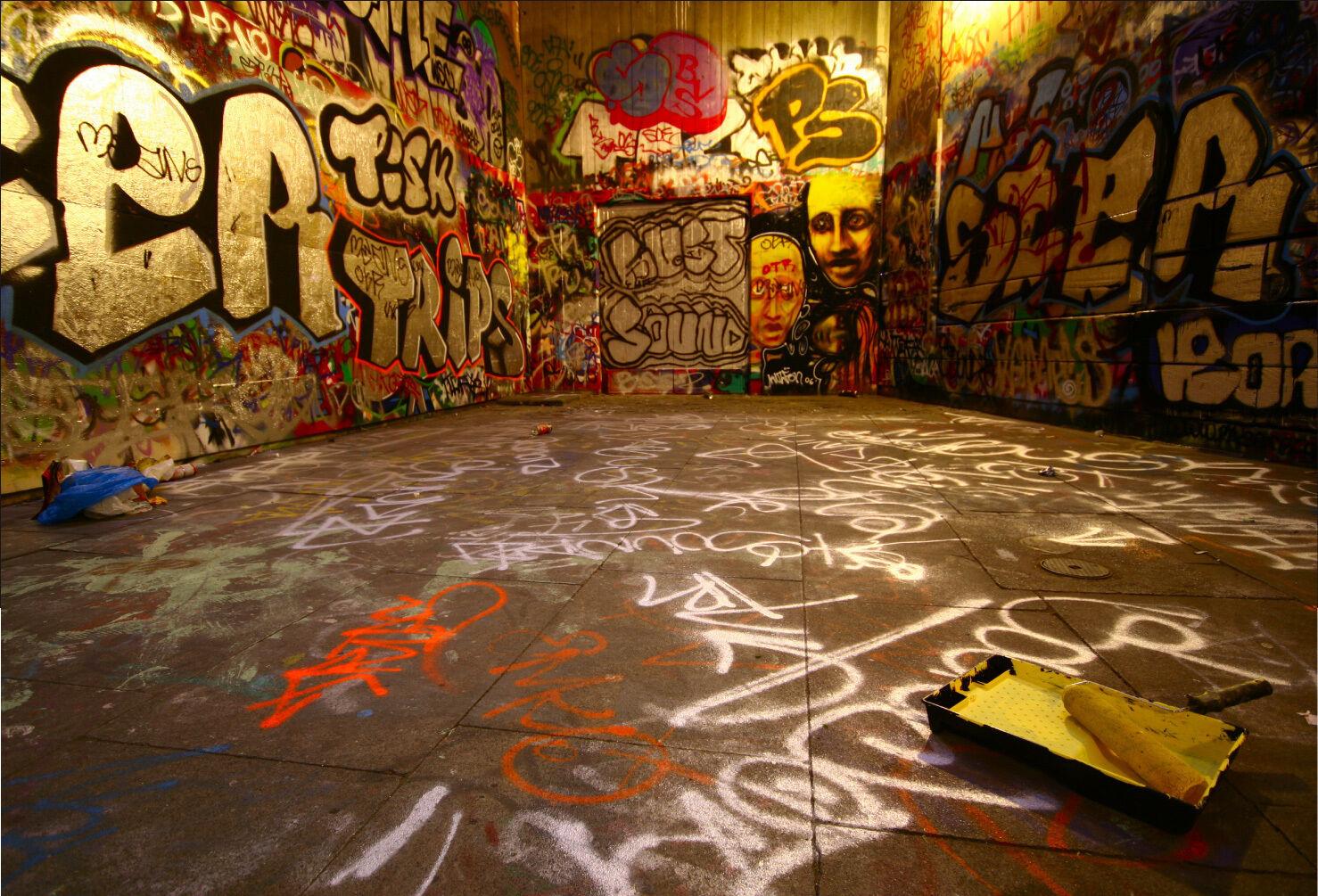 Adesivi Murale Adesivo Decocrazione  Graffiti Tag - Ref 1560 (16 Dimensioni)