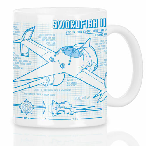 Bebop Swordfish II Motif Tasse Anime Mono Racer cow-boy ABIME Manga BD Série
