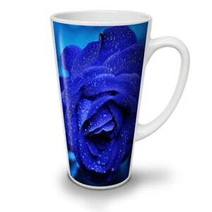 Blue Rose Beautiful NEW White Tea Coffee Latte Mug 12 17 oz | Wellcoda