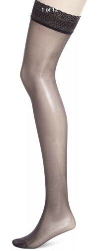 DIM Women/'s Sulbim Voile Brillant X2 Tights//Hold-Up Stocking Black Size 35//41