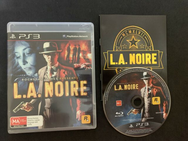 L.A. Noire Playstation 3 PS3 LA with Manual PAL