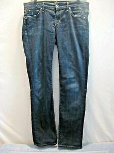 Citizens-of-Humanity-Ava-Women-039-s-Stretch-Straight-Leg-Dark-Jeans-LR-SZ-29-NICE