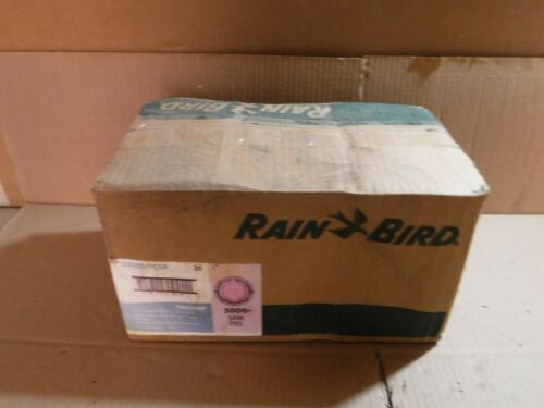LOT OF 20 Rain Bird 5000S+PCSR Rotor Shrub Sprinkler Part Circle With Sam /& Prs