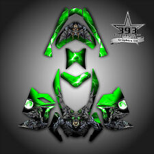 SKI-DOO REV XP SNOWMOBILE SLED GRAPHICS DECAL WRAP STICKER KIT GUARDIAN GREEN