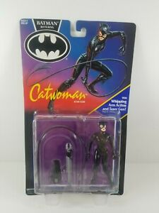 New-Batman-Returns-Catwoman-Whipping-Arm-Action-Kenner-4-5-034-Figure-Vintage-1991