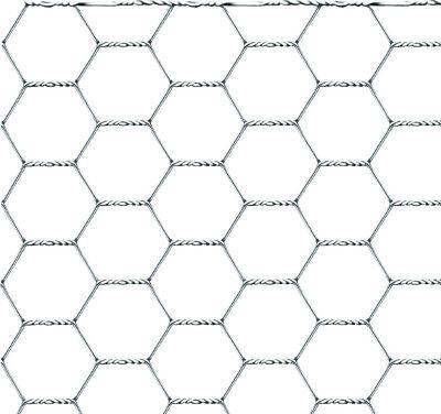 Rete Recinzione Zincata Maglie Esagonali 50 mm 1 x 50 metri Filo 0.9 mm Confine