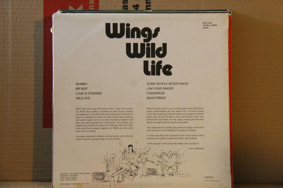 LP, Wings, Wild Life