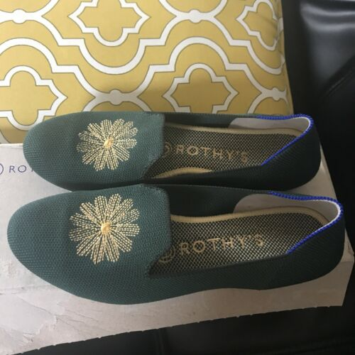 *Retired* Rothy's Evergreen Loafers Size 6